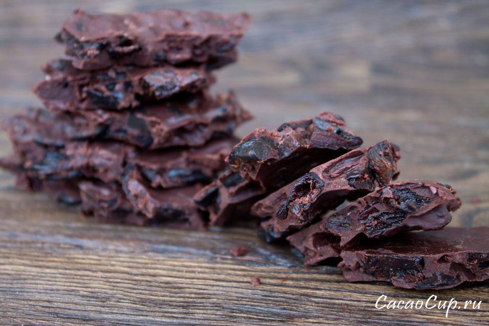 Шоколад с черносливом